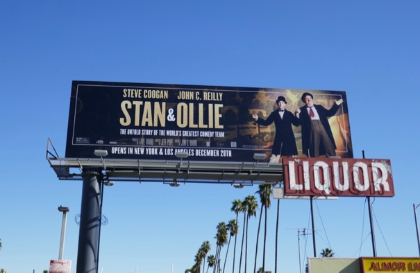 Stan and Ollie movie billboard