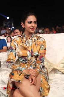 Actress Rakul Preet Singh Stills in Short Dress at Dhruva Pre Release Function  0101.JPG