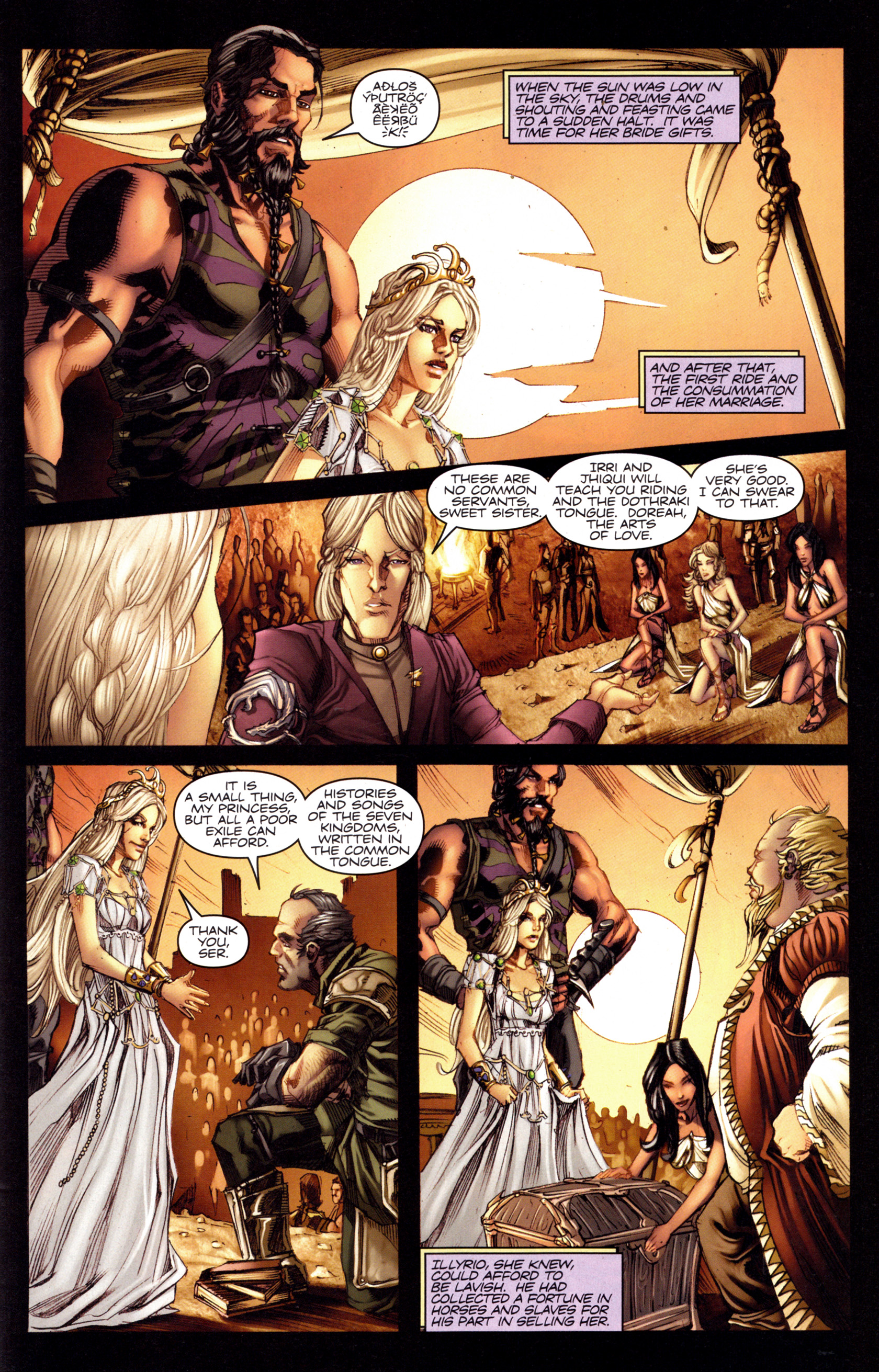 Read online A Game Of Thrones comic -  Issue #3 - 25