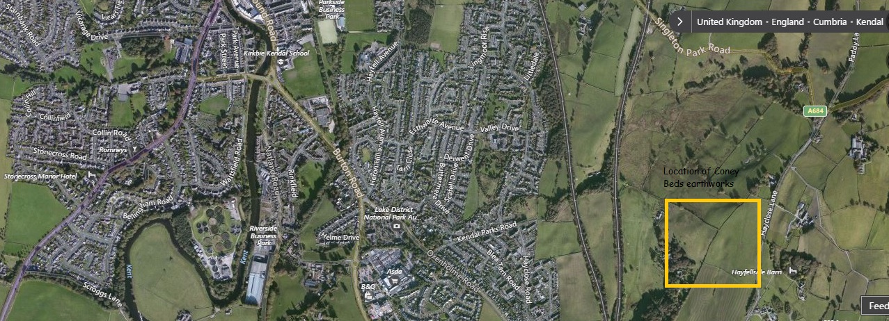 The castles towers and fortified buildings of Cumbria Kendal