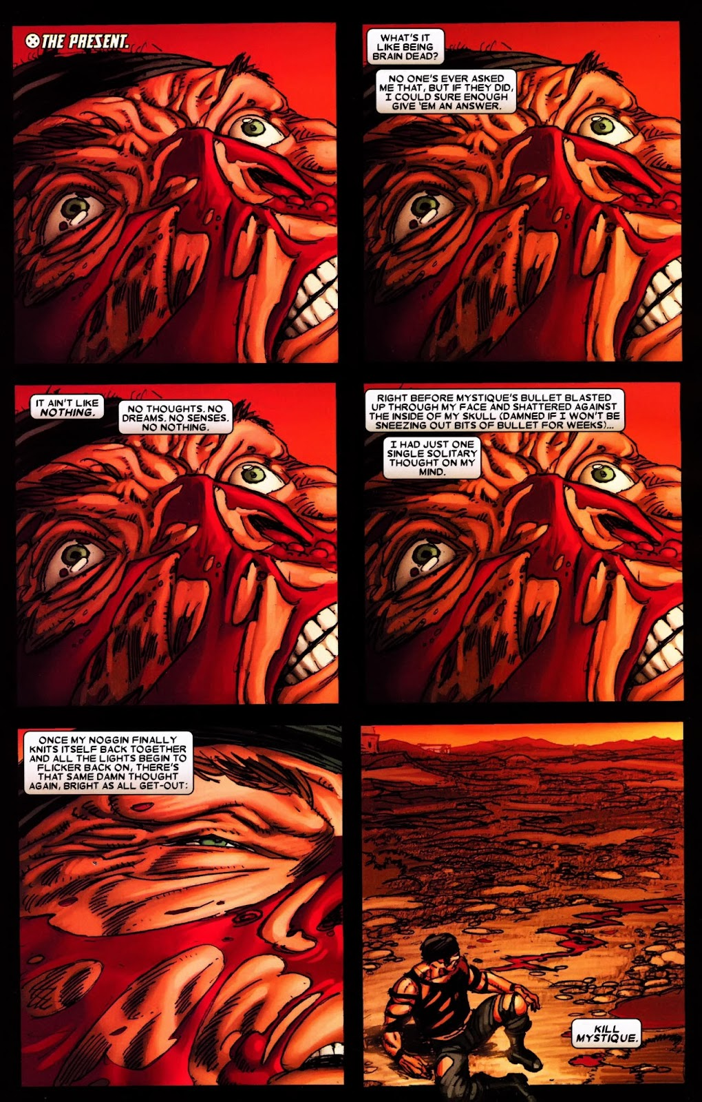 Read online Wolverine (2003) comic -  Issue #65 - 21