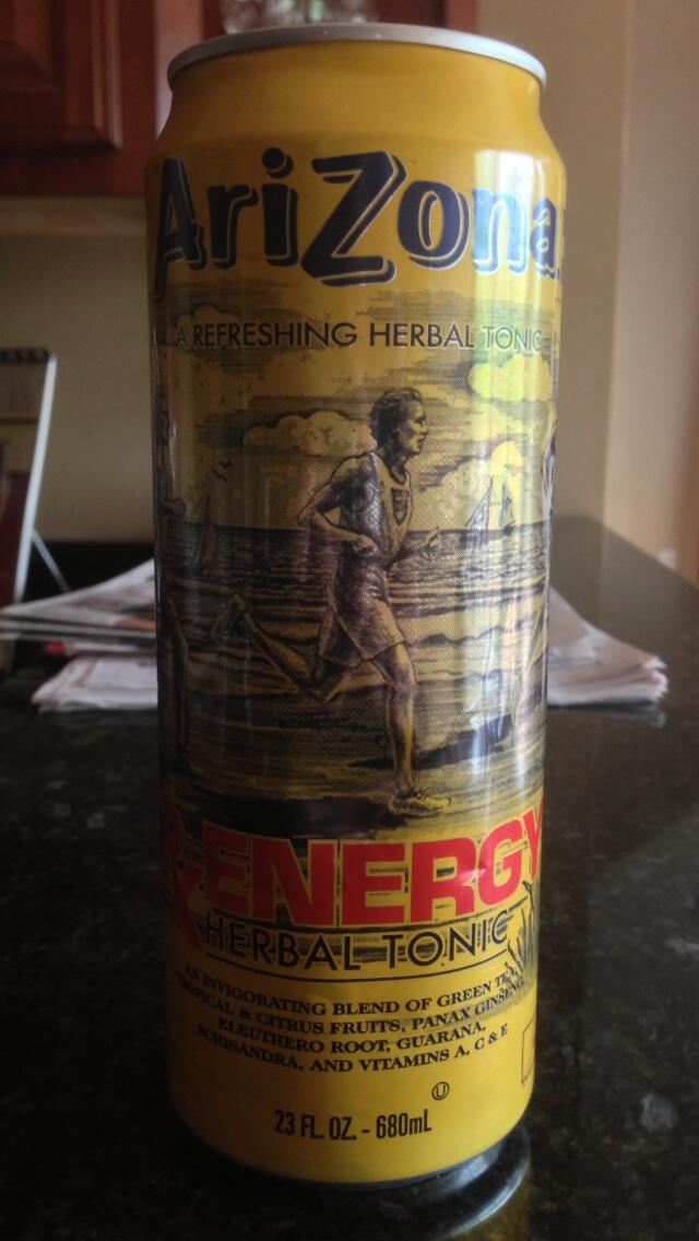 The Drink Reviewer Arizona Rx Energy Herbal Tonic Review