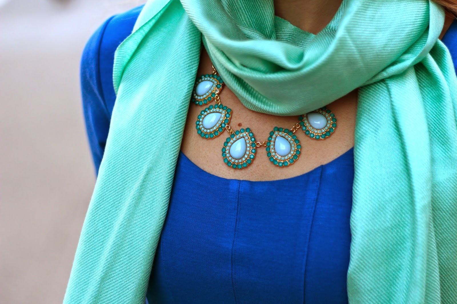 Dress C O Tart Collections Scarf Cutest Wedding Gift Idea To Keep Us Warm For Tail Hour Similar Necklace Elle Lauri