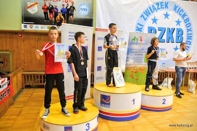 """Akademia Zwycięzcy z SKF """"BOKSING"""" Zielona Góra na podium Mistrzostw Polski w Lesznie 2016!"""