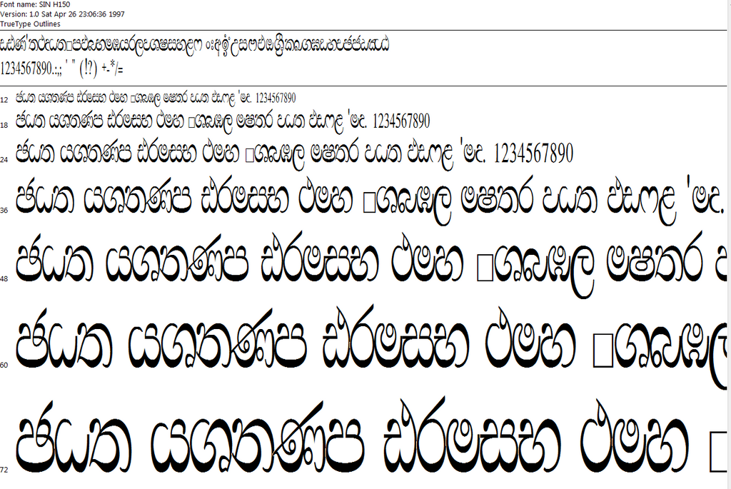 25+ Sinhala Unicode Fonts Pics - FreePix