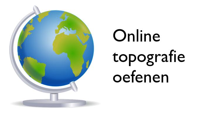 over topografie op de basisschool en 19+ websites voor leerlingen om
