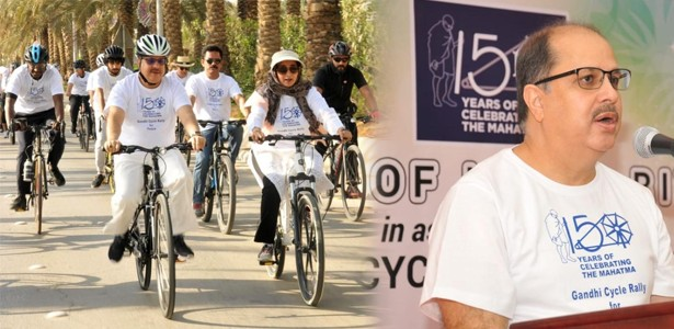 Gandhi-Cycle-Rally-for-Peace