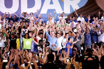 Durante Convenção no Recife, Armando Monteiro  é oficializado candidato ao Governo de Pernambuco