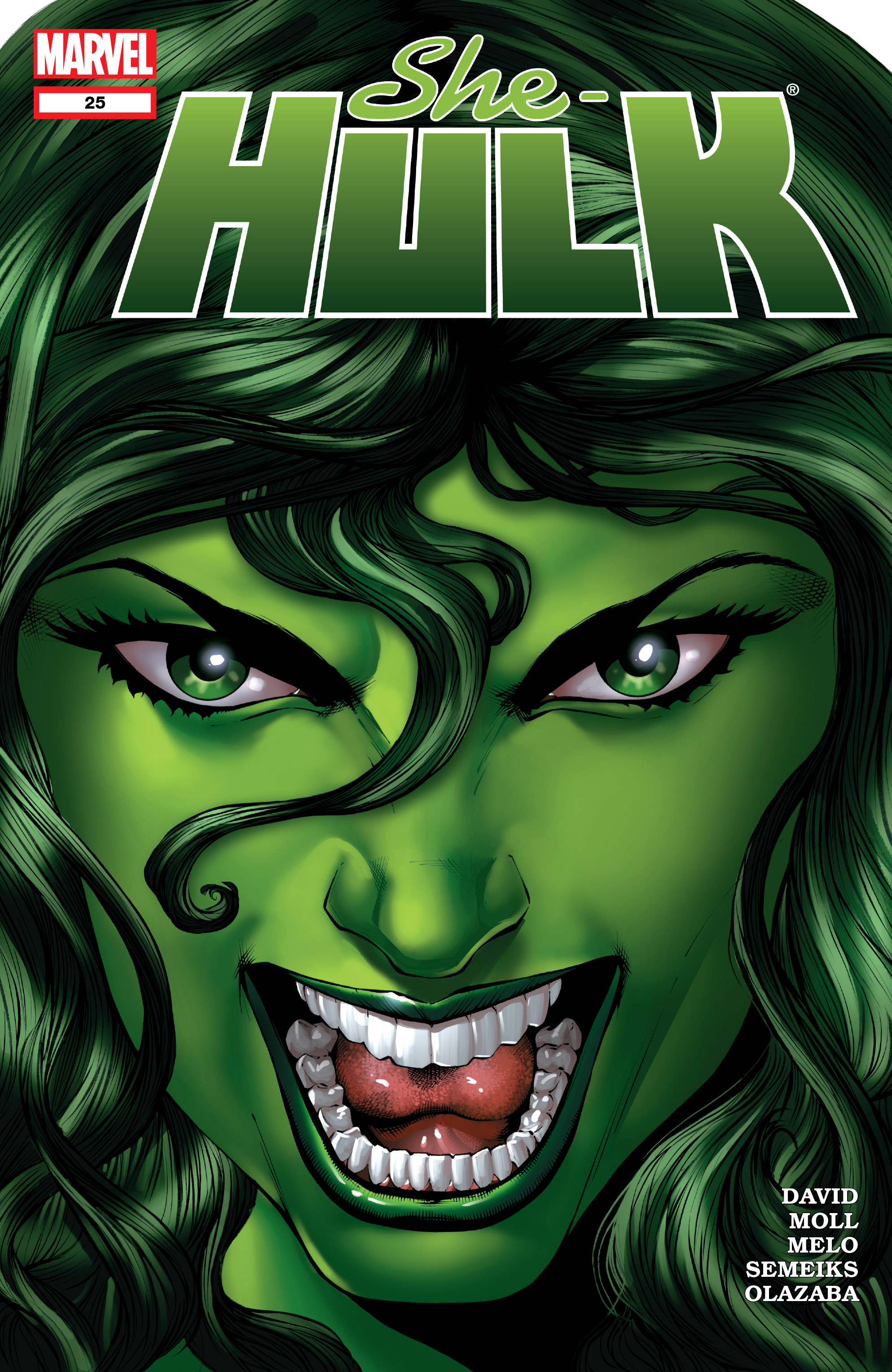 Read online She-Hulk (2005) comic -  Issue #25 - 1