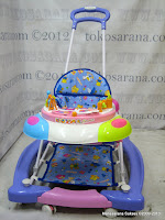 3 in One Baby Walker, Pusher dan Rocker Royal RY8183 Circus dengan Extra Light