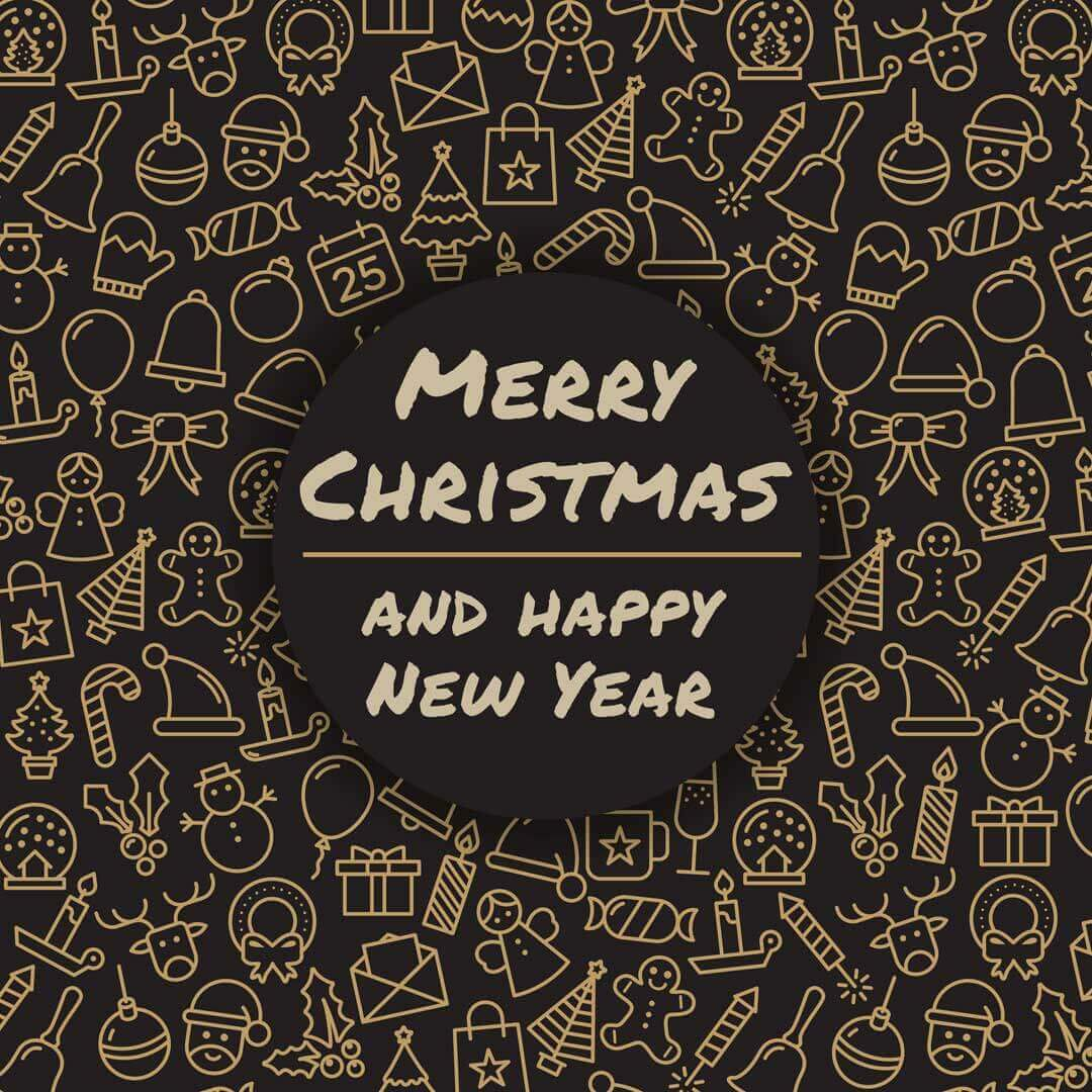 Merry Christmas and Happy New Year Banner Download Free