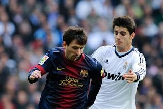 Murata vs Messi - Alvaro Morata - La Liga