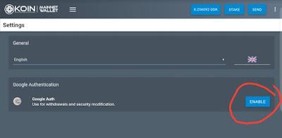 Cara Aktifkan Google Authenticator pada  Akun ddk