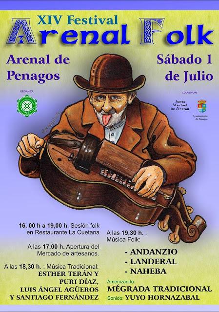 XIV Festival Arenal Folk en Arenal de Penagos