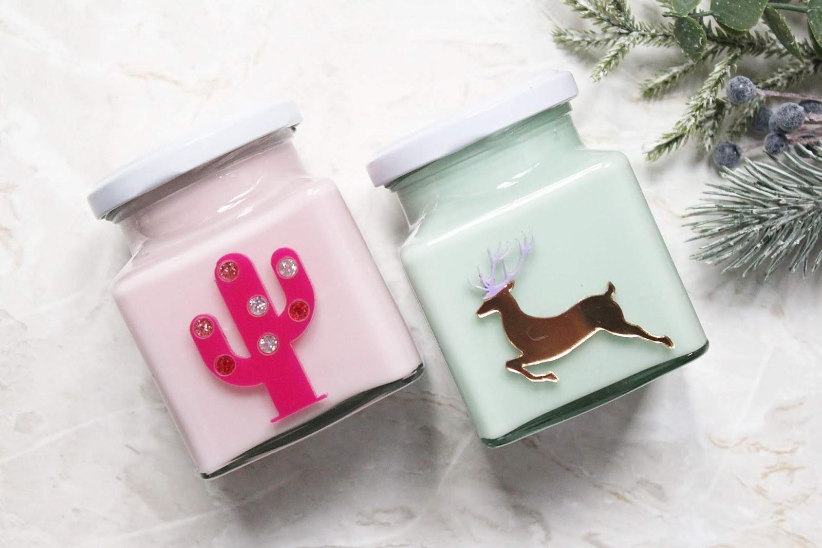 Flamingo Candles Christmas 2018