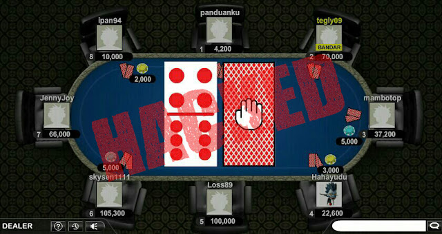 CHEAT BANDARQ ONLINE DI ANDROID