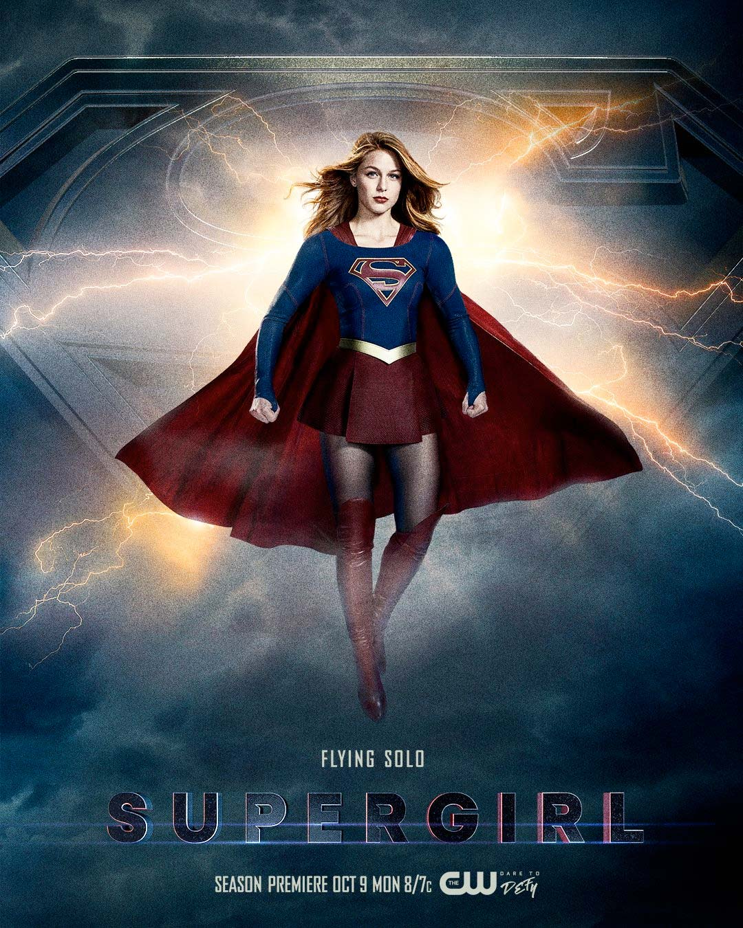 Supergirl season 3 poster