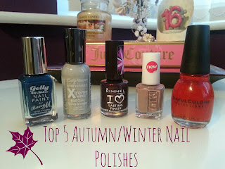 Top 5 Autumn/Winter Nail Polishes