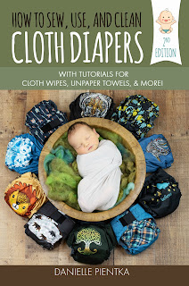 Book on how to sew cloth diapers and other cloth products.