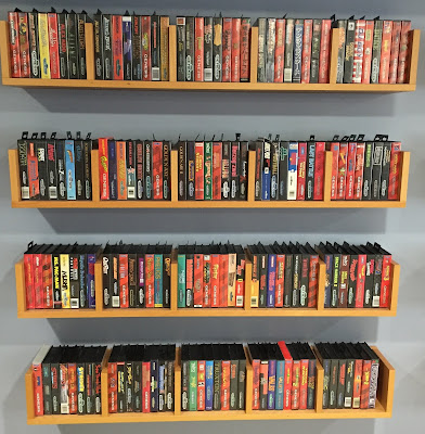 Genesis games and floating shelves