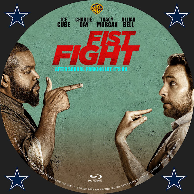 Fist Fight Bluray Label