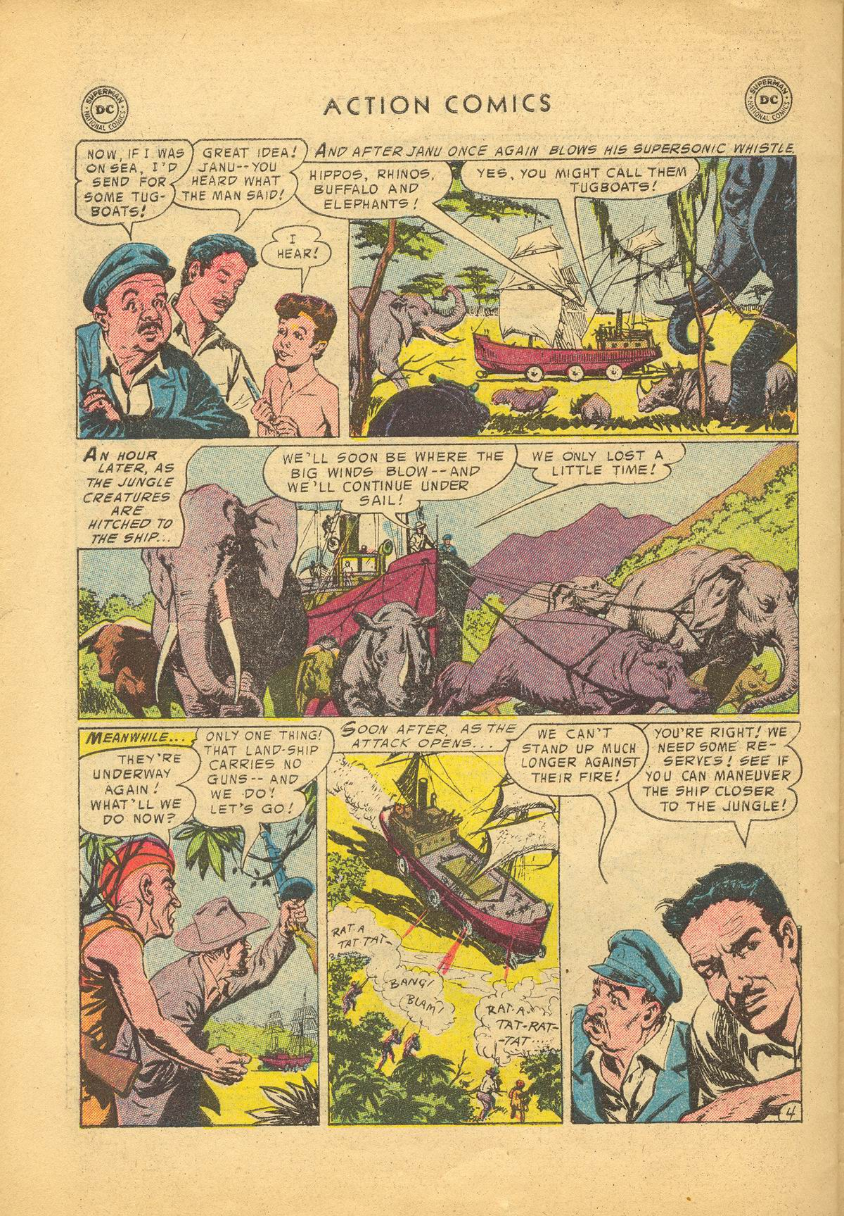 Read online Action Comics (1938) comic -  Issue #209 - 30