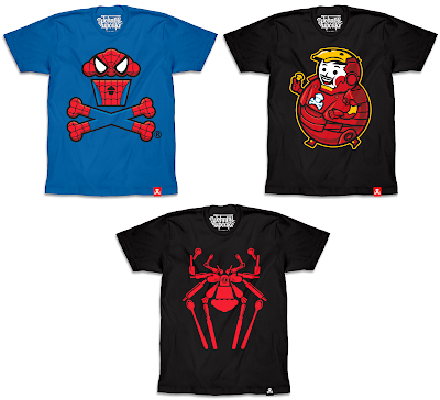 Spider-Man Homecoming T-Shirt Collection by Johnny Cupcakes