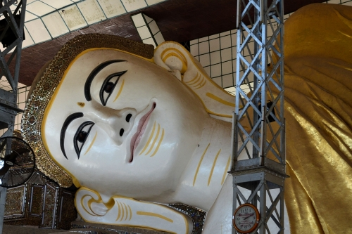 Budda Shwethalyaung, Bago, Birma, Jola Stępień