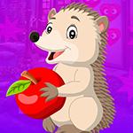 G4K Porcupine Escape With Apple
