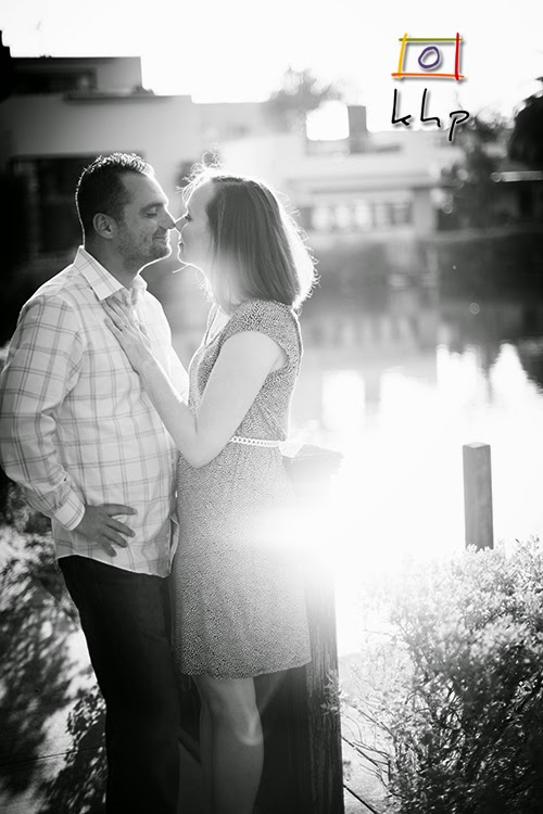 Venice Canals Engagement Shoot