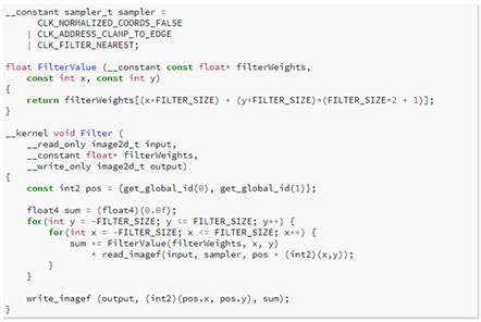 Langage de programmation OpenCL