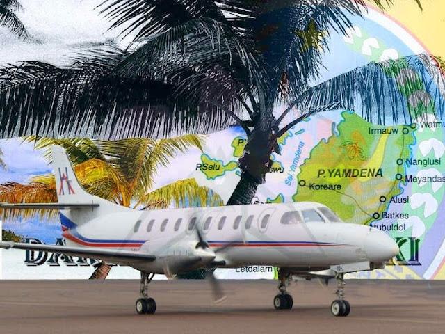Ini Alasan Penerbangan Charter Darwin-Saumlaki Batal