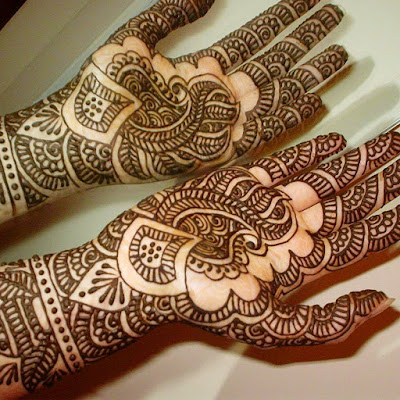 Heena Bridal Mehndi Designs for Indian Bridal