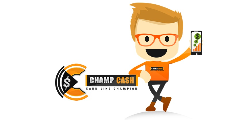 ChampCash app earn money by completing task