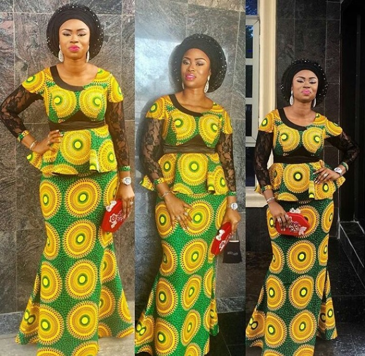 Stylish Latest Ankara Skirt And Blouse Styles 2018 For African