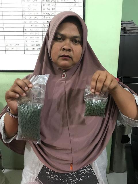Tersangka pemilik 1.200 butir pil ekstasi