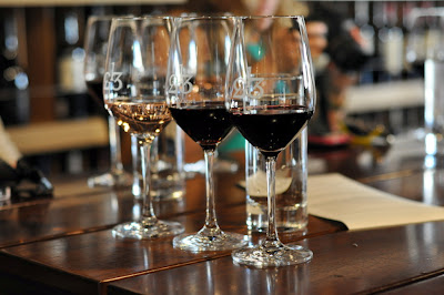 Tres Sabores Wine Flight at 1313 Main - Napa, CA | Taste As You Go