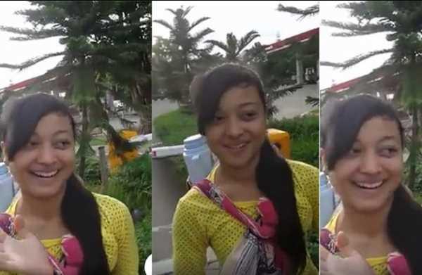 Gadis Penjual Jamu Cantik Keliling Mendadak Viral