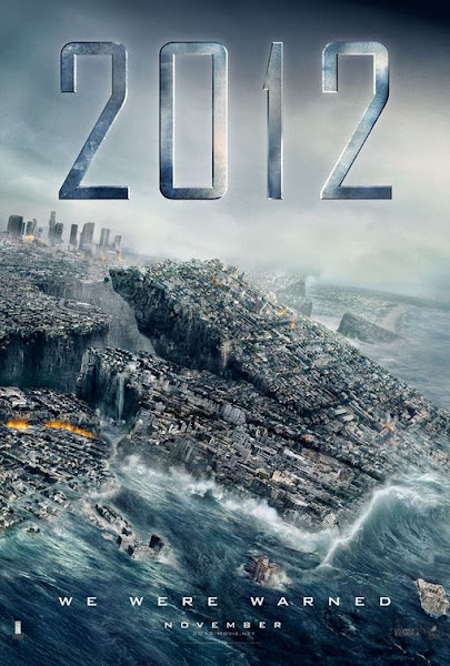 Poster of 2012 (2009) 720p Hindi BRRip Dual Audio Full Movie Download