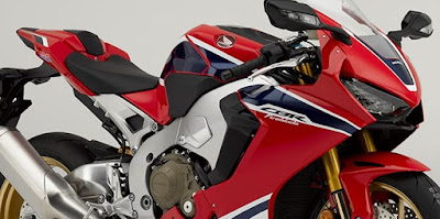 2017 Honda CBR1000RR Fireblade SP Body view