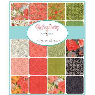 Blushing Peonies Fabric by Robin Pickens for Moda Fabrics