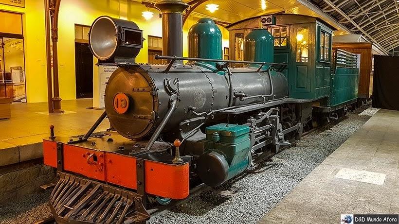 Museu Ferroviário - O que fazer em Curitiba, Paraná