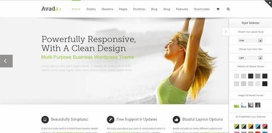 Avada 3 2 Responsive WordPress Theme Free Download