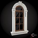 decoratiuni exterioare geamuri fatade cu profile decorative polistiren win-021