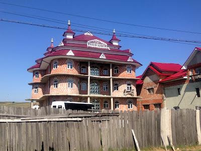 Wioska cygańska Rumunia