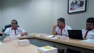 Rapat Lanjutan Festival Film Pendek  Kemenpora dan DPP PPMI dalam rangka Mendukung Asian Games
