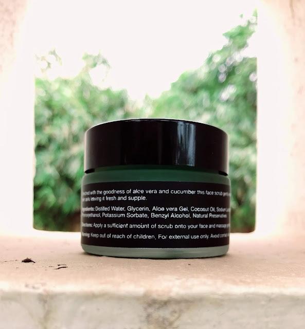 ENN Aloe Cucumber Face Scrub Review