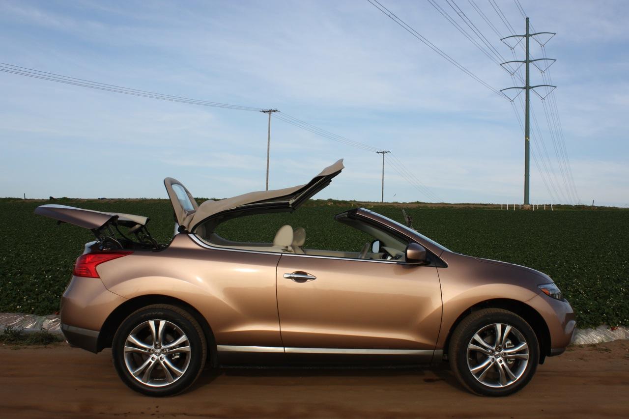 Nissan Murano CrossCabriolet 2011: overview - Garage Car