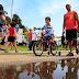 Famílias lotam o Parque Barigui para a festa do Dia das Crianças
