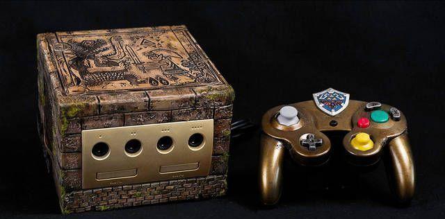 Mira esta espectacular GameCube con estilo de Zelda
